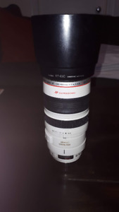 Canon 100-400 IS F4.5-5.6 L - Excellent Condition
