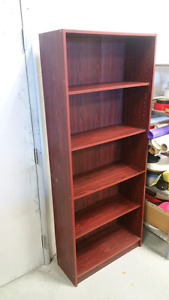 2 Bookcases wood