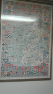 Historical map of Scotland