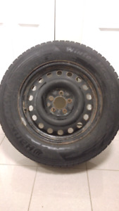 Set of 4 Hankook I-cept Winter tires 235/65/R17