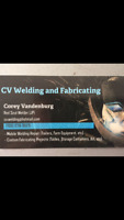 MOBILE WELDER, CV WELDING AND FABRICATING