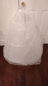 White Crinoline / Petticoat