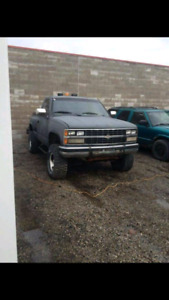 1989 chev pack up  project  truck