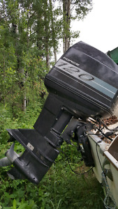 120 HP Force Outboard Boat Motor