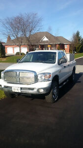 2009 Dodge Power Ram 2500 SLT Pickup Truck With Lot of Tool Box