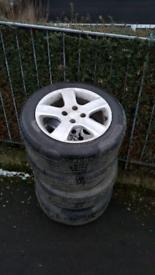 Peageout car wheel