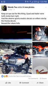 Stolen quad from MB.
