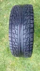 1 - 205/55/16 *Blizzak* snow tire on rim