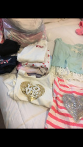 Little girl clothes from new born to 3T most clothes hardly worn