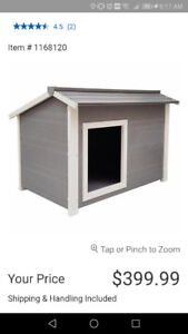 Dog house  and accessories
