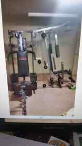 Large Complete Home Gym