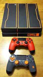 1TB Special Edition Black Ops PS4+2 Controllers