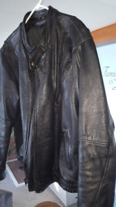 Leather Motorcycle Jacket for sale, new condition