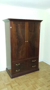 Tall Bedroom Dresser Wardrobe Armoire Chest Drawers