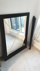 """31"""" x 43"""" framed mirror *mint condition*"""