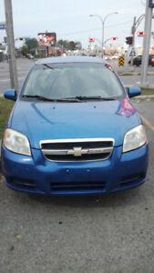 Chevy aveo Ls 2008, 1150$ nego vente rapide.