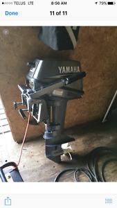 8 horsepower 2 stroke Yamaha