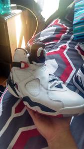 """Jordan 8 retro """"alternate"""" basketball sneakers"""
