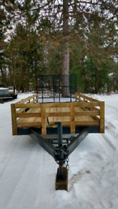 Tandem utility trailer for sale