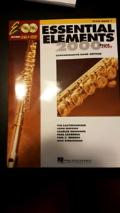 Essential Elements 2000 plus DVD - FLUTE BOOK 1