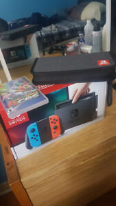 Nintendo Switch Console  (Neon)