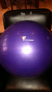 Exercise stability ball - 55 cm