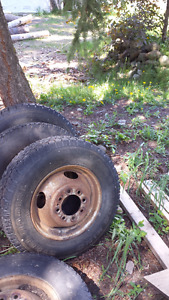 Dodge Dually Tires and Wheel