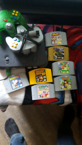 n64 nintendo 64 sale or trade