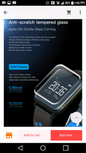 IWatch Smart watch water proof 50meters $125 os and android