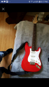 Barracuda Guitar with amp