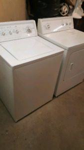 KENMORE ..H DUTY ..WASHER AND DRYER...