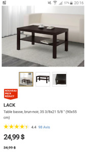 Used Lack Ikea Table