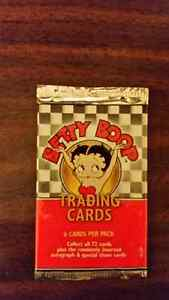 Betty Boop Trading Card Pack by Dart