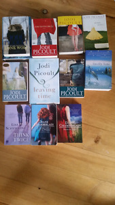 Adult Books by Picoult, Hannah, Scottoline, and Chamberlain