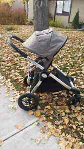 Baby jogger city select DOUBLE stroller w accessories