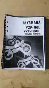 Yamaha R6 service manual