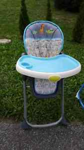 Baby items and chairs