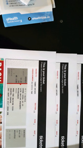 Nickelback tickets for sale