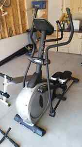 BH Fitness Elliptical Trainer/Sit up Bench/Chin up Bar