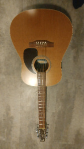 Reduced! 12 string acoustic guitars seagull and epiphone