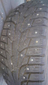 205/50r17 hankook i-pike Rd winter tires