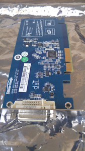 DVI  computer card with pci interface