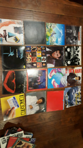 LP vinyl collection. 45's are free