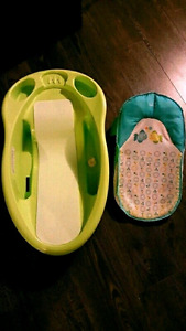 baby bath and baby bath support