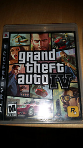 PS3 GAMES - GTA 4, COD:MW3, UNCHARTED 3-DRAKE'S ED, COD: GHOSTS.