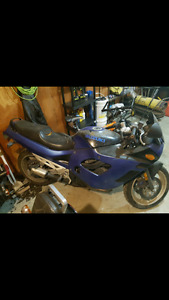 Suzuki GSX-750 Katana, new tire, fast bike, easy to ride