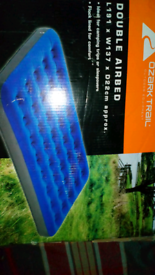 Double air mattress NOW SOLD
