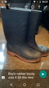 Boy's Rubber boots