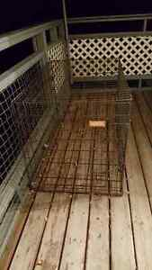 A LARGE CRATE FOR DOGS - IN EXCELLENT CONDITION