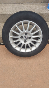 Acura or Honda 4 Bolt Tire and Rim